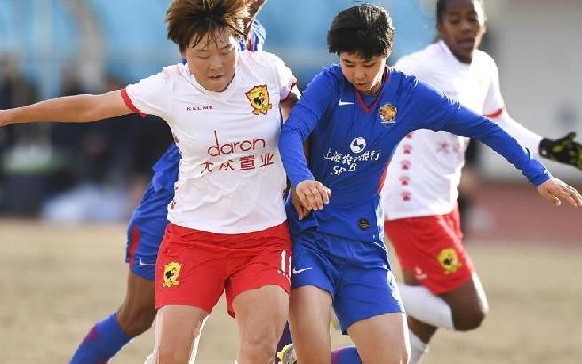 女子足協杯:長春不敵上海