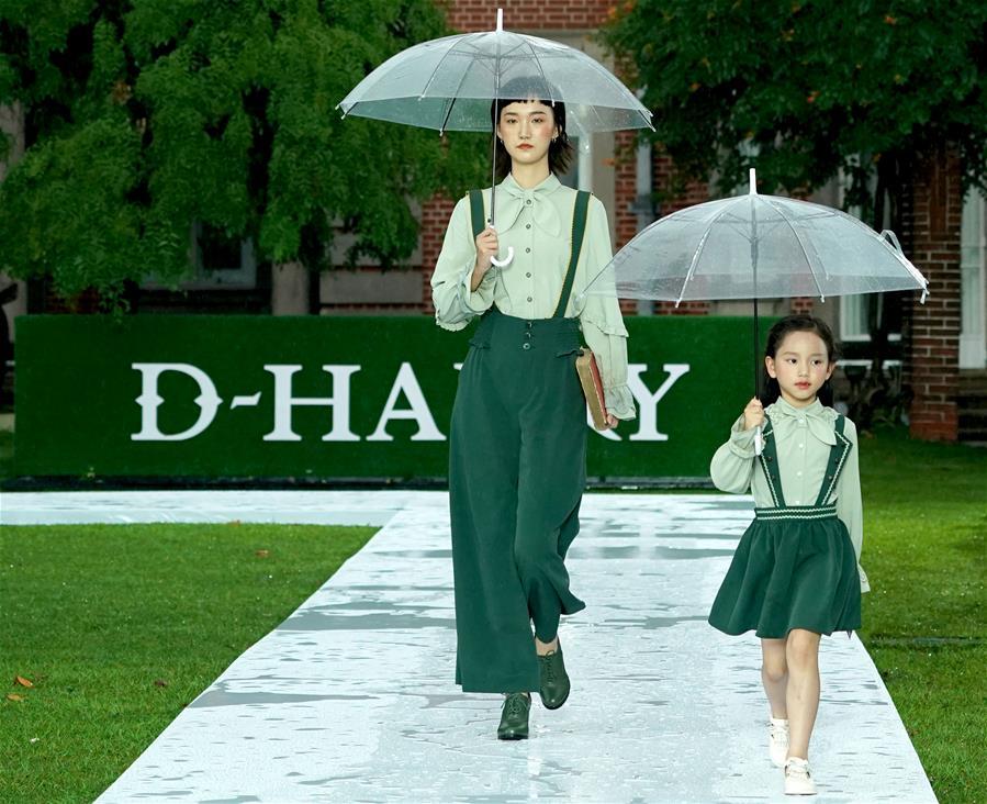 雨中时尚秀