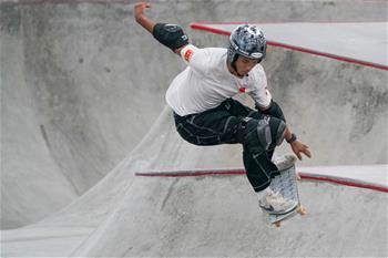 江苏南京:2019国际滑板公开赛赛况