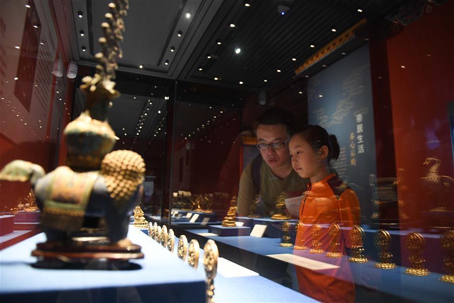 安徽合肥:夜游博物馆