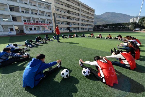 浙江:到2022年將建設足球特色學校2000所