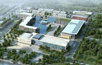中美合作辦學的昆山杜克大學開工建設二期校園