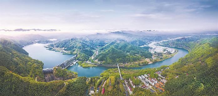 安徽:佛子嶺水庫,一壩建成淮河安