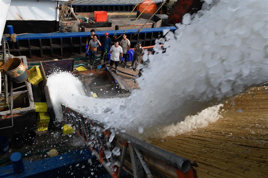 浙江:漁民慶典迎開漁