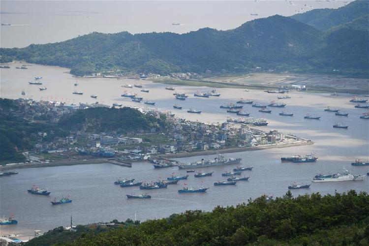 東海伏季休漁結束 浙江象山千艘漁船整裝出海