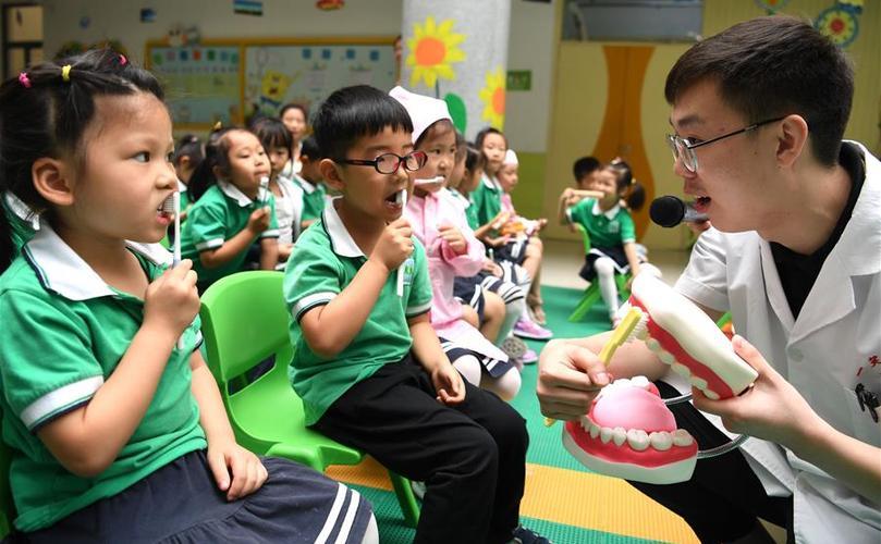 合肥:愛護牙齒從娃娃抓起
