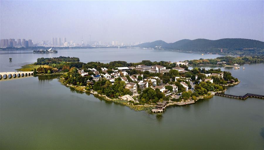 江蘇徐州:一城青山半城湖