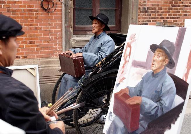 《行进中的画展——张园项目》在上海开幕