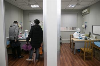 上海:走近发热门诊的医护人员