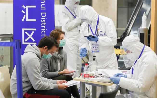 上海浦东国际机场防疫见闻