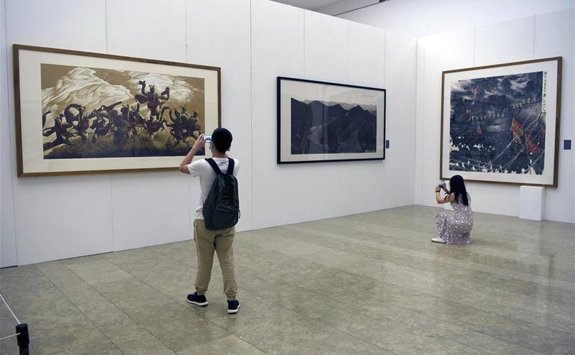 """""""一帶一路""""國際美術工程作品展在杭州開展"""