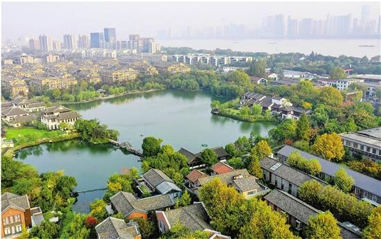 浙江杭州:生态屏障 护清流