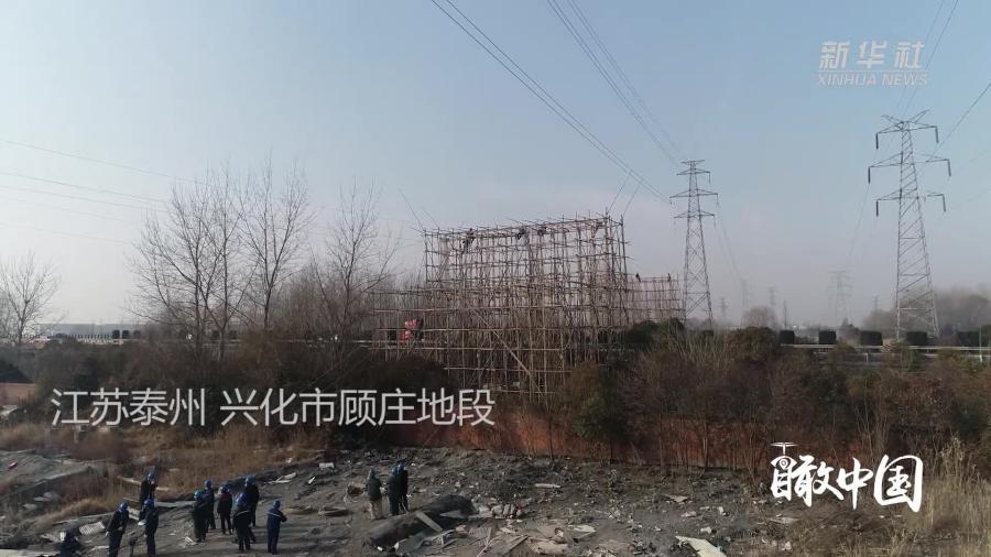江苏泰州:迎峰度冬保供电